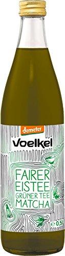 Voelkel - Bio Eistee Grünter Tee Matcha Erfrischungsgetränk - 0,5l inkl. Pfand