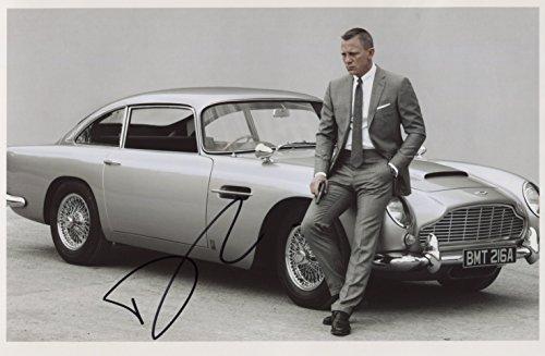 New, Numbered   Certificate Daniel Craig (James Bond) SIGNED Photo 1st Generation PRINT Ltd 150   Certificate (1)