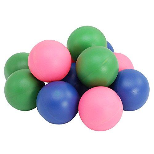 COM-FOUR® 12x Beachbälle in sommerlichen Farben, 4 cm Ø (12x Bälle)