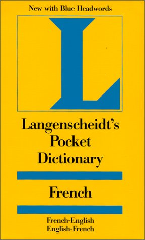 Langenscheidt's Pocket French Dictionary: French/English-English/French