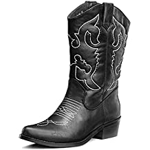 Amazon.it  stivali cowboy donna 094afc8ec52d