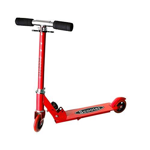 Scooter für Kinder, Kickboard, Tretroller, Klappbarer Roller, Leicht verstaubar, Zweirad, Neu