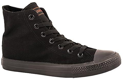 Damen Sneakers Low Top Sportschuhe Kult Laufschuhe Runners Fitness New Look Textil Canvas Schuhe (41,