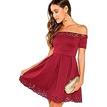 93d4767a4 Amazon.es  Vestidos Cortos En Rojo