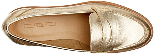 ESPRIT Damen Oska Loafer Slipper Gold (Gold)