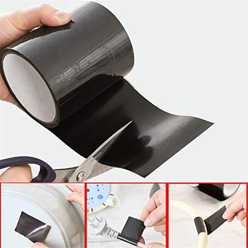lymty Wasserfestes selbstklebendes Silikonkautschukband-Isolierband für Koaxialstecker/Koaxialkabel/Antenne/Notfallreparatur -