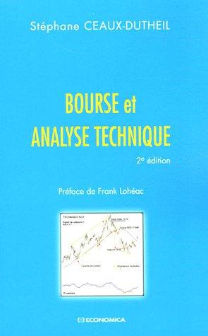 Bourse et analyse technique par Stéphane Ceaux-Dutheil