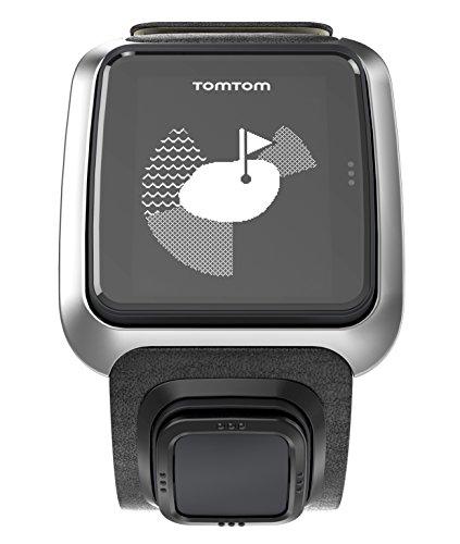 Golfuhr schwarz – TomTom Golfer GPS-Uhr, Lederarmband - 3