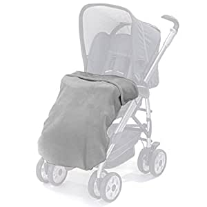 universal fleece babydecke f r kinderwagen buggys sportwagen grau kuschelige. Black Bedroom Furniture Sets. Home Design Ideas