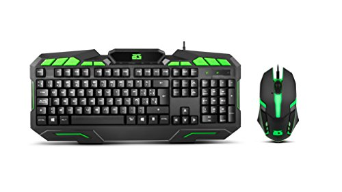BG-Gaming Ranger Force - Pack Teclado y ratón