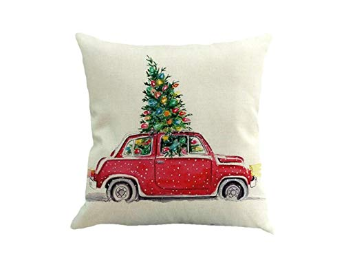 Décorations de Noël Coussin de voiture