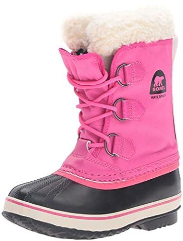 Sorel Yoot PAC Nylon, Unisex-Kinder Schneestiefel, Pink (Haute Pink 627Haute Pink 627), 37 EU