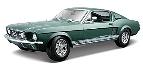 Maisto 531166 - 1:18 Ford Mustang Fliessheck 1967, farblich sortiert, Farbe nicht wählbar