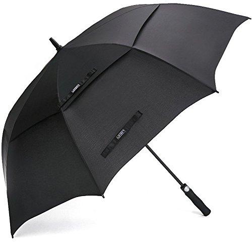 Ombrellone da golf g4free 68 pollici doppio baldacchino antivento ventilato extra grande ombrello ombrello bastone impermeabile aperto automatico