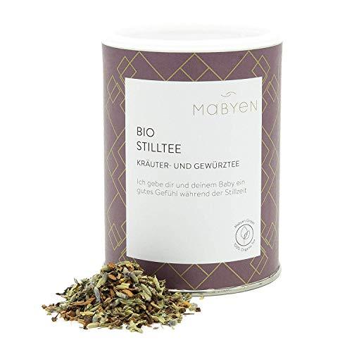 "Mabyen Bio Stilltee - Stillzeit Tee Bekannt aus""Die Höhle Der Löwen"" Kräutertee Naturbelassen Lose Kräuter 90 gr Bockshornklee Mama Tee"