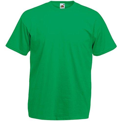 10er Pack Valueweight Fruit of the Loom T-Shirt Größe S - 5XL T-Shirts in vielen Farben maigrün