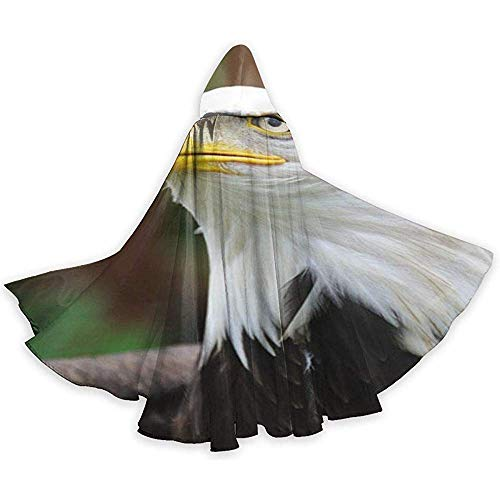 Eagles Kostüm Women's - Eagle In The Wild Adult Tunika Hooded Knight Halloween Mantel Robe Kostüm Weihnachten, 59Inch (150,40Cm)