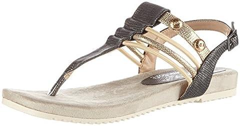 Rieker Women's V5373 Shoe and Boot Toe Guards, Grey (Blei/Antique / 45), 3.5 UK
