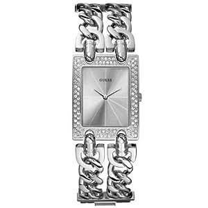 GUESS - U10593L1 - Analogique - Montre Femme - Bracelet en metal couleur argente