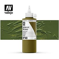 Vallejo Acrylic Studio 22048 Olive Green (200ml)