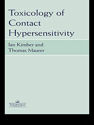 Toxicology Of Contact Hypersensitivity por Ian Kimber epub