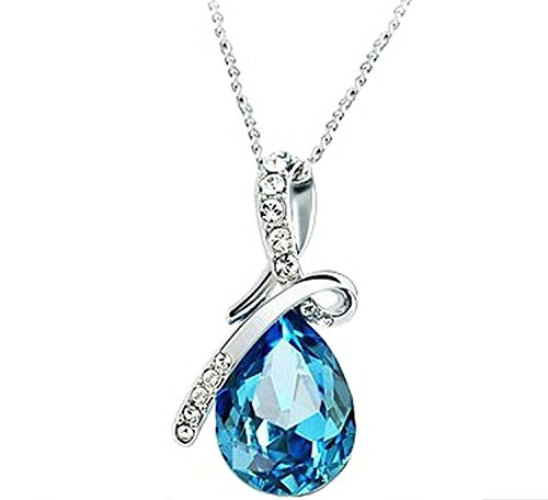 Valentine-Gift-By-Shining-Diva-Blue-Crystal-Combo-Of-Necklace-Set-With-Earrings-And-Bracelet-For-Girls