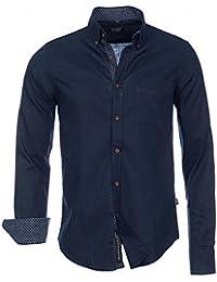 Brandneu !!! Designer Leinen-Hemd von CARISMA in 3 Farben uni CRM8339