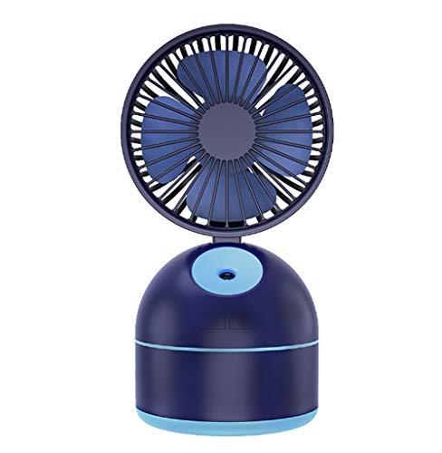QWQ69 Mini Ventilador de nebulización Ventilador portátil USB Ventilador humidificador de enfriamiento...