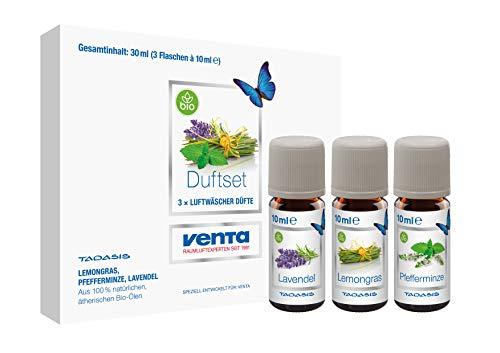 klusiv N°2 (Lavendel, Lemongras und Pfefferminze), 100% natürliche ätherische Bio-Öle, 3 x 10 ml ()