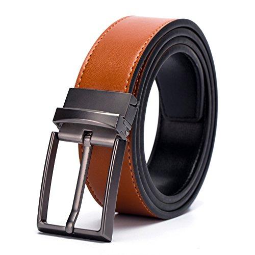 fine-hombres-de-vestido-top-piel-reversible-belt-classic-designs-removable-hebilla
