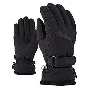 Ziener Damen KOFEL GTX LADY glove Ski-Handschuhe/Wintersport | wasserdicht, atmungsaktiv, black, 6