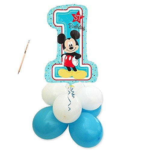 Irpot - centrotavola palloncini 1 anno topolino mickey mouse