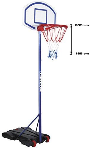 HUDORA 71622 Hornet 205 Basketballständer höhenverstellbar 165-205 cm