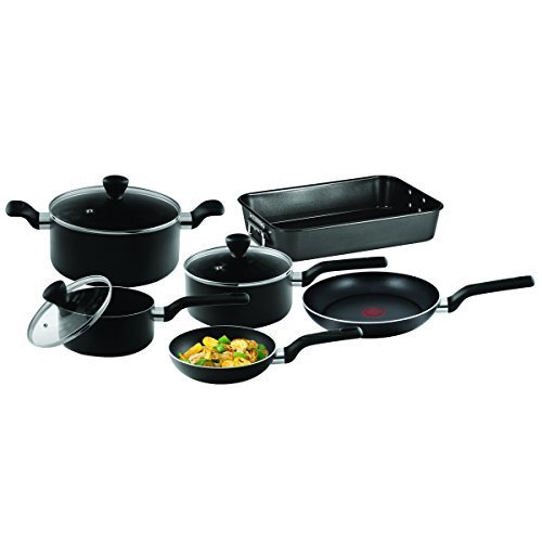 Tefal B106S644 Admire Non-Stick 6 Pieces Essential Cooking Set