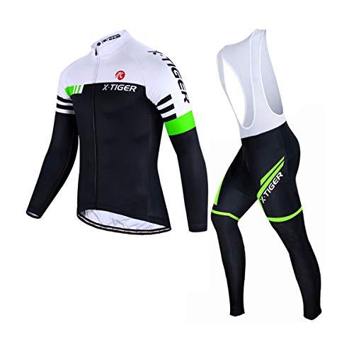 X-TIGER Homme Maillot de Cyclisme Vélo VTT Vêtements...
