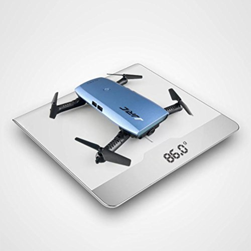 MRULIC JJRC H47 Elfie faltbar 720p HD WiFi FPV Quadcopter 360-Grad-Rotationen in Richtung (Blau) - 9
