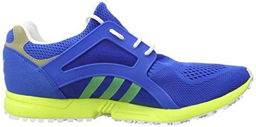 adidas Racer Lite Herren Sneakers Blau (Bluebird/Solar Yellow/Cyber Met.)