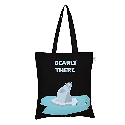EcoRight-Reusable-100-Cotton-lightweight-EcoFriendly-Tote-Bag-Printed-Bearly-There