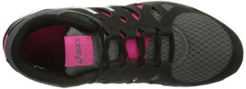 Asics Gel-Fit Tempo Mt, Chaussures de fitness femme Noir (Charcoal/Silver/Hot Pink 9793)