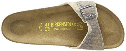 Birkenstock Madrid, Herren Pantoletten Beige (camouflage Brown)