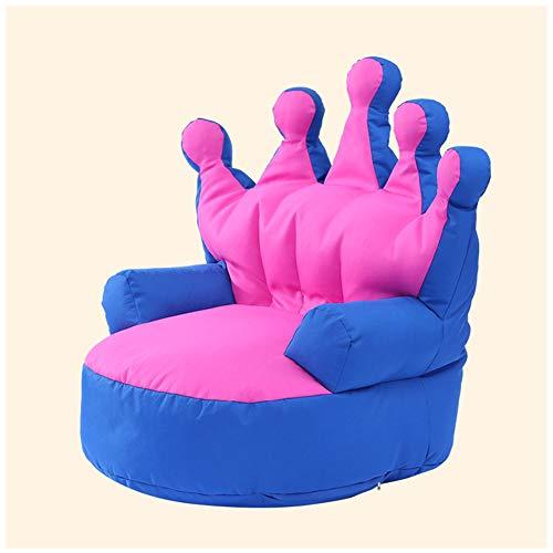 TX Faules Sofa/Sitzsack Der Kinder/Fotophotographiehintergrundprodukte/Kreatives Krone Tatami,Blue