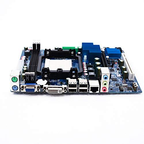 Lorsoul AMD A78 Socket AM3 938 Placa Base portátil del reemplazo DDR3 MicroATX Madre del Ordenador