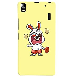 Citydreamz Abstract Cartoon Hard Polycarbonate Designer Back Case Cover For Lenovo A 7000/A7000/ K3 Note