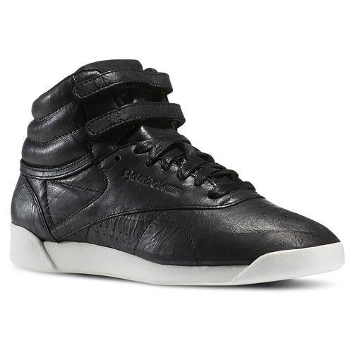 Reebok F/S Hi Premium Lux Black Chalk Sneaker Black