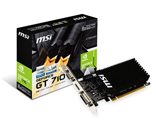 MSI GeForce GT 710 2GD3H LP DDR3 - 2 Vga-video-karte