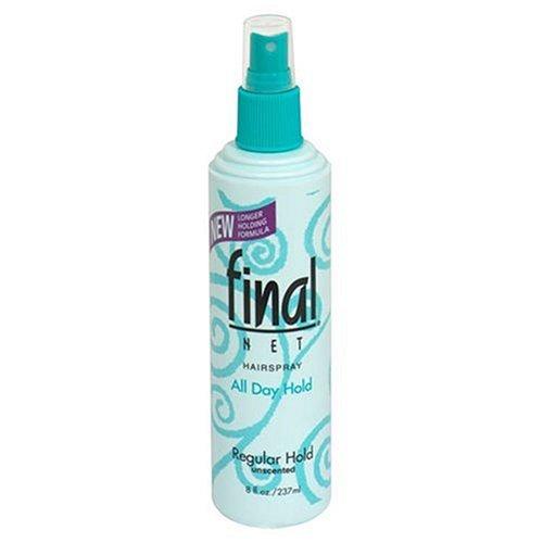 Final Net Laque capillaire - Tenue normale - Non parfumée - 235 ml