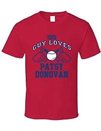 This Guy Loves Patsy Donovan Atlanta Baseball Player Classic T Shirt XXXX-L