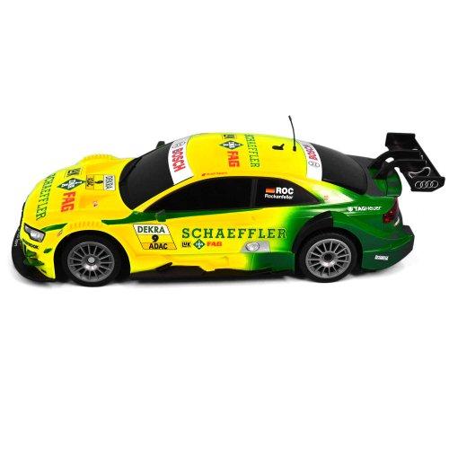 RC Auto kaufen Tourenwagen Bild 4: AUDI A5 DTM RC ferngesteuertes Lizenz Fahrzeug im Original Design, Modell Ma stab 1 16, Ready to Drive, Auto inkl Fernsteuerung*