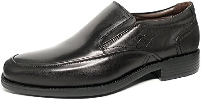 Zapatos vestir hombre FLUCHOS - Piel Negro - 7996 - 76