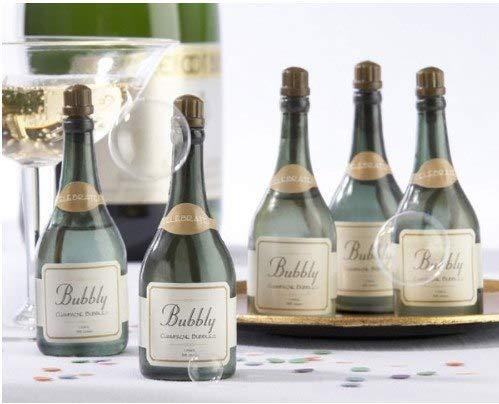 50X Hochzeit Blase Grüne Flasche Champagner stil seife wasserflasche für hochzeit party supplies baby begünstigt hochzeit dekoration